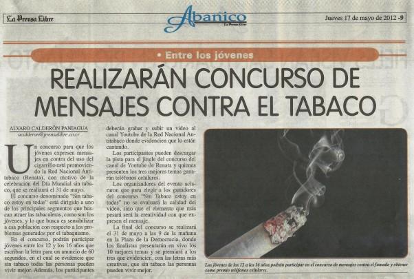 La Prensa Libre, 17 de mayo, 2012